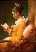R101 Young Girl Reading