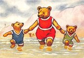 AK401 Teddies in the Sea