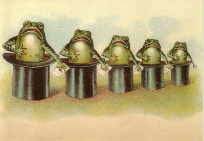 AK226 The Top Hat Frogs