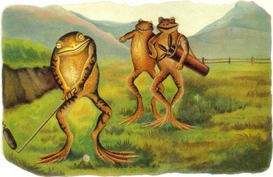 AK160 The Golfing Frogs